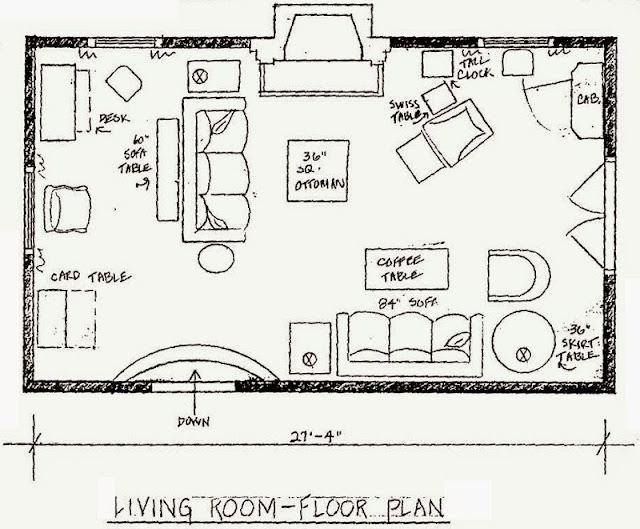 Floor planning a small living room ayanahouse for Small condo plans