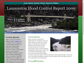 LAUNCESTON FLOOD CONTROL REPORT 2009