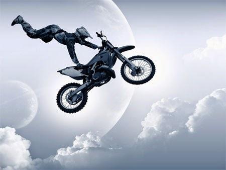 gambar free style motor cros