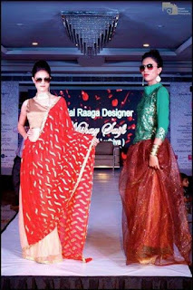 Priyanka Darjee (Laber) in ramp show BRIDAL RAAGA Lucknow