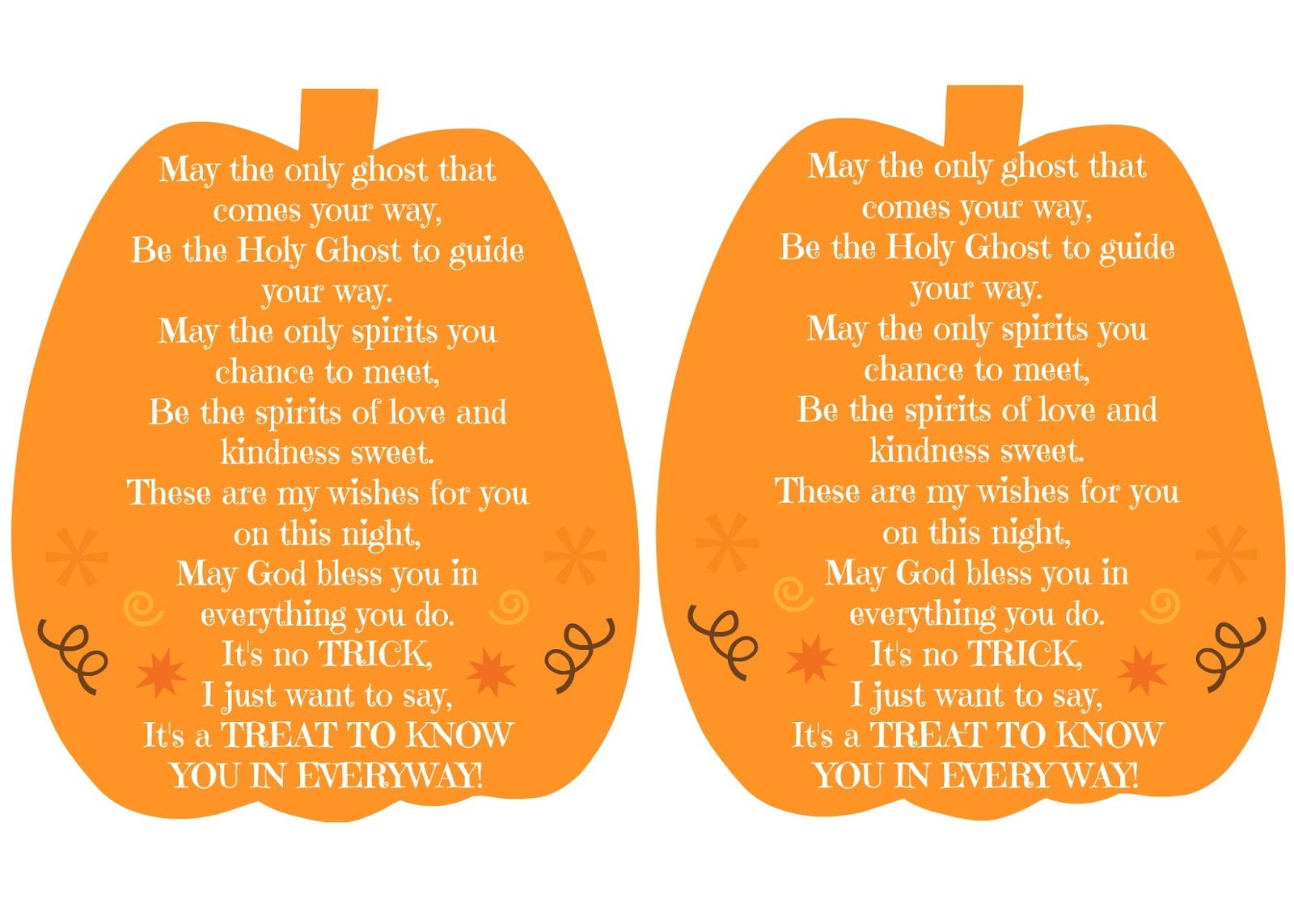 one reason why we don't celebrate halloween & a perfect halloween poem (free printable)