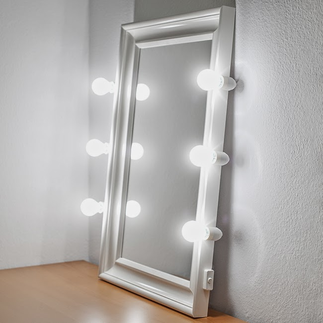 and fashion photographer lars brandt stisen lighted makeup mirror. Black Bedroom Furniture Sets. Home Design Ideas