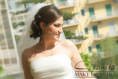 Make Up Sposa - Bridal Make Up - Trucco occhi castani nocciola cervone sposa - shabby chic - Marrone - Grigio - rosa antico cipria - Nudo - Nude look - Make Up For Ever - Mufe - HD foundation - HD Powder - Romantic Glamour look - Brown - Pink - Grey - false lashes - ciglia finte - pencil techique - no makeup look - no make up look