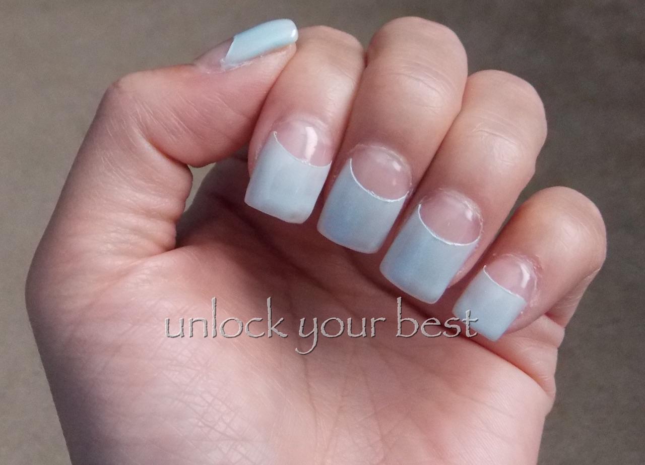 Unlock Your Best: Half Moon Nails Tutorial/Pictorial