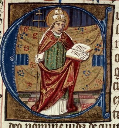Saint clement pope theologian martyr bryan cross taylor marshall for Comfaience saint clement