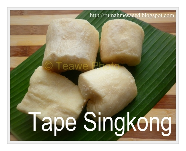 Tape Singkong Picture
