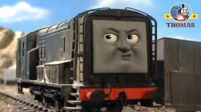 Silly locomotive Steamies railroad job useful Island of Sodor Dieselworks Vicarstown Diesel 10 train