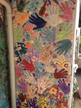 Hand wall yet to be grouted.