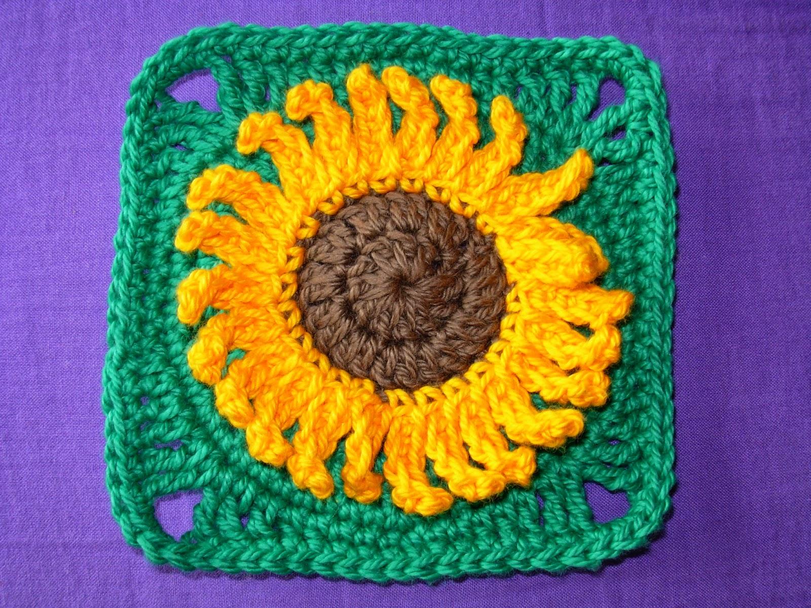 Sunflower Granny Squares
