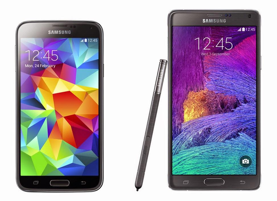 Samsung Galaxy 4 vs Galaxy S5