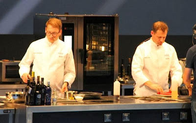 chefs Hamish Brown y Bjoern Weissgerber. Blog Esteban Capdevila