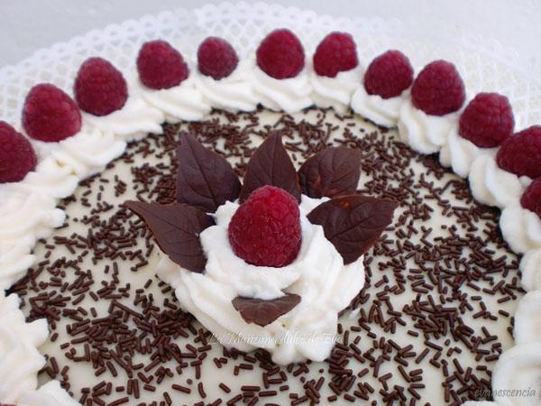 adorno central de la tarta