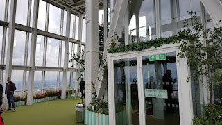 The Roof Garden at The Shard London