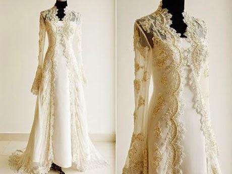 baju pengantin simple elegan