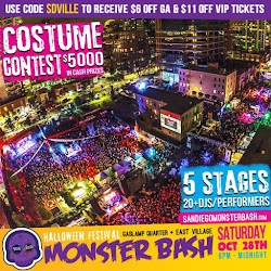 Save on passes & Enter to win VIP Tickets to San Diego MonsterBash - October 28!