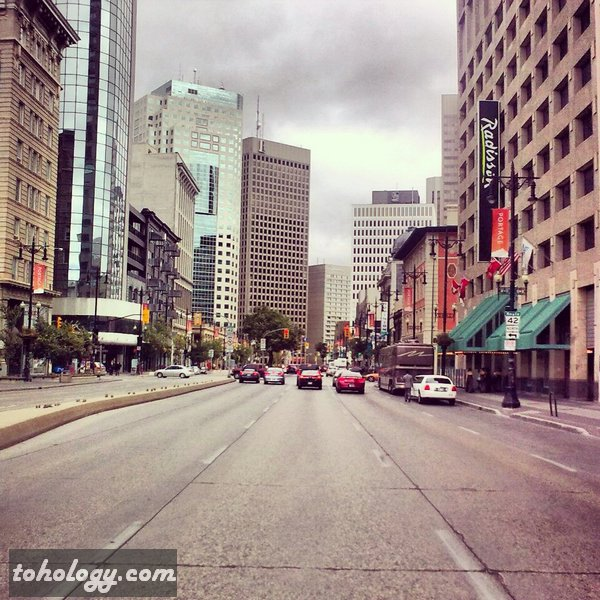 Radisson Hotel Downtown in Winnipeg Canada