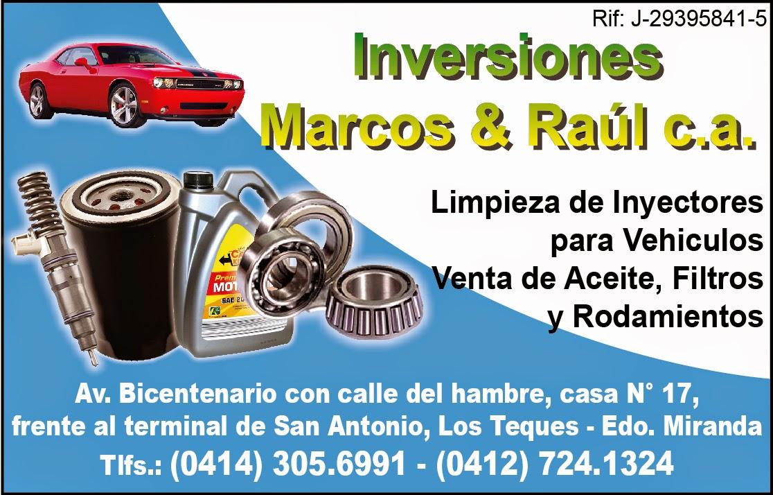 INVERSIONES MARCOS & RAUL en Paginas Amarillas tu guia Comercial