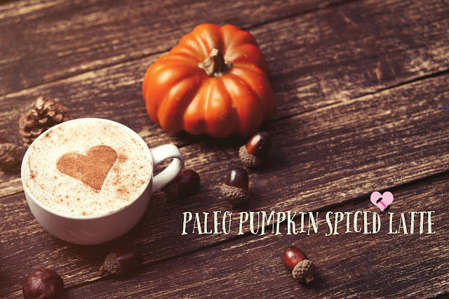 Healthy Fall Drinks - PALEO PUMPKIN SPICED LATTE