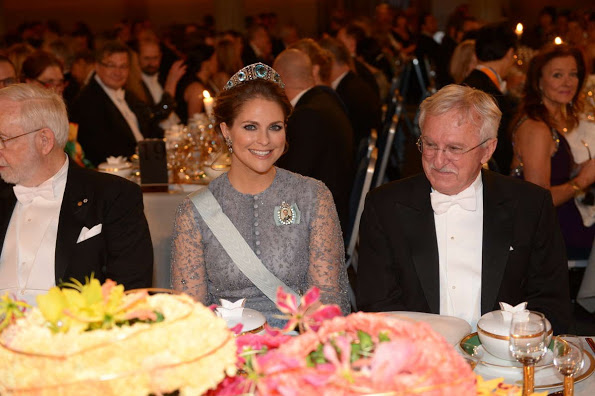 The Nobel Prize Banquet 2015 At Stockholm City Hall