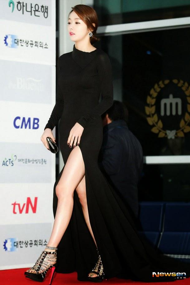Những đôi chân trắng muốt của sao Hàn