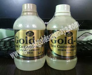 perbedaan jelly gamat gold g tutup putih dengan cokelat