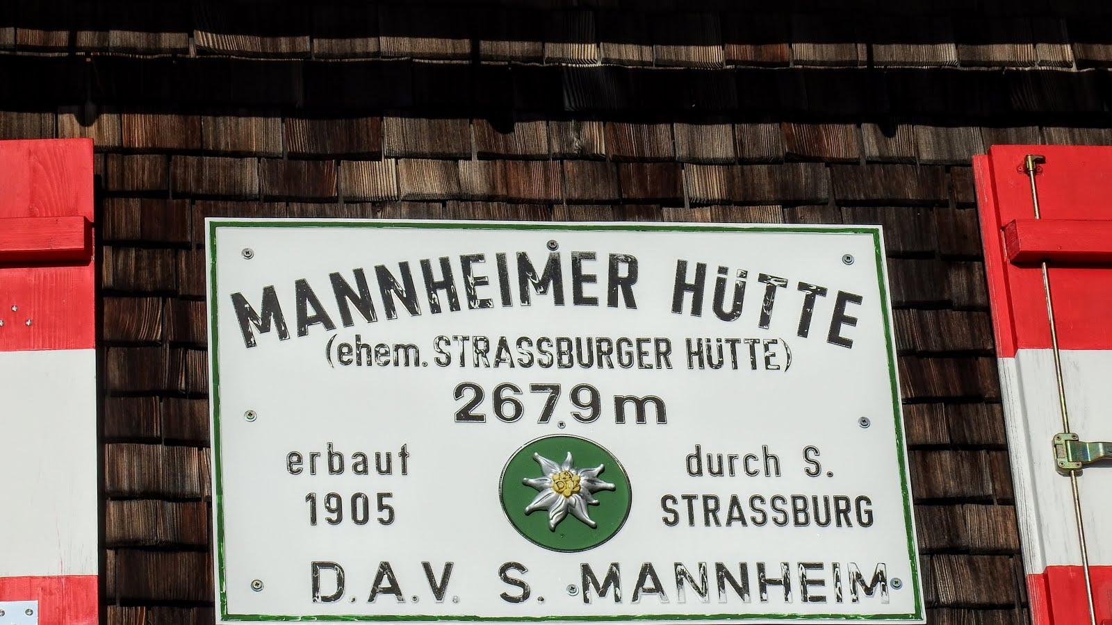 Mannheimerhutte