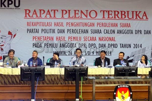 Hasil Real Count KPU Pemenang Pilpres 22 juli 2014