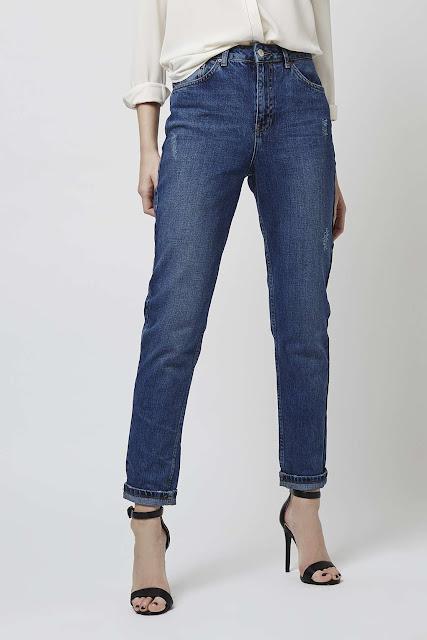 dark blue mom jeans, moto mom jeans,