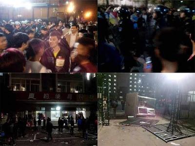 Indignação operária na Foxconn, Taiyuan