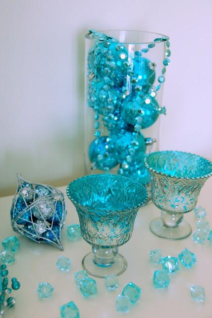 Tiffany blue鄉村風聖誕佈置