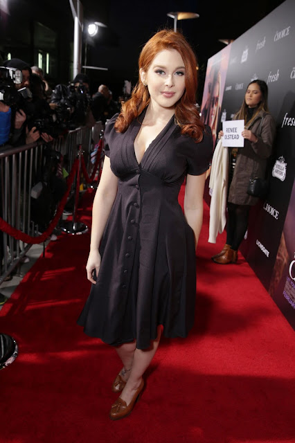 Renee Olstead at the Premiere of The Choice in Hollywood