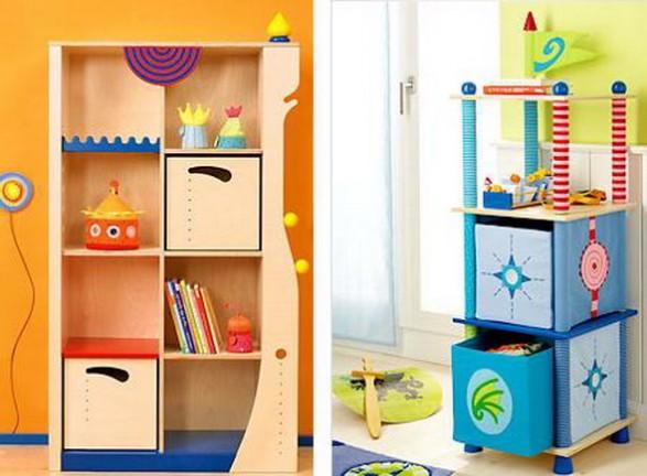 Ideas para el almacenamiento de los juguetes en las habitaciones infantiles infantil decora - Muebles para juguetes infantiles ...