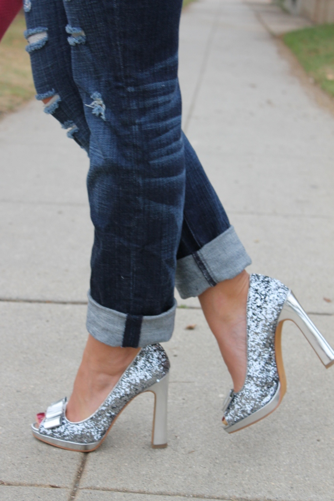 Bedazzles After Dark How To Wear Sparkly Shoes - Part I