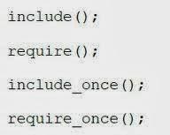 أساسيات البرمجة  برمجة المواقع بي اتش بي  تضمين الملفات   PHP File Inclusion include