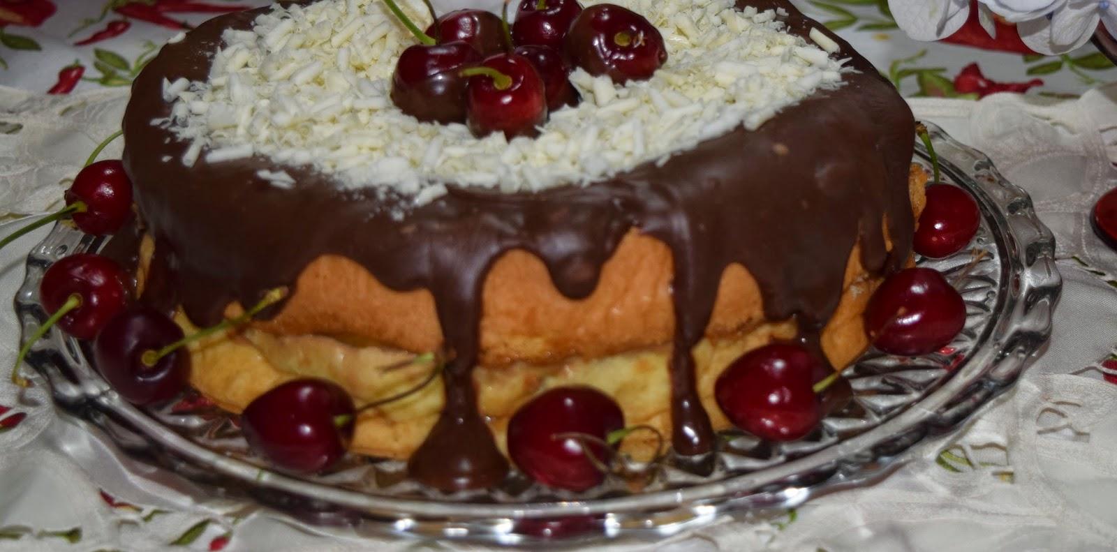 Naked Cake para o Natal!
