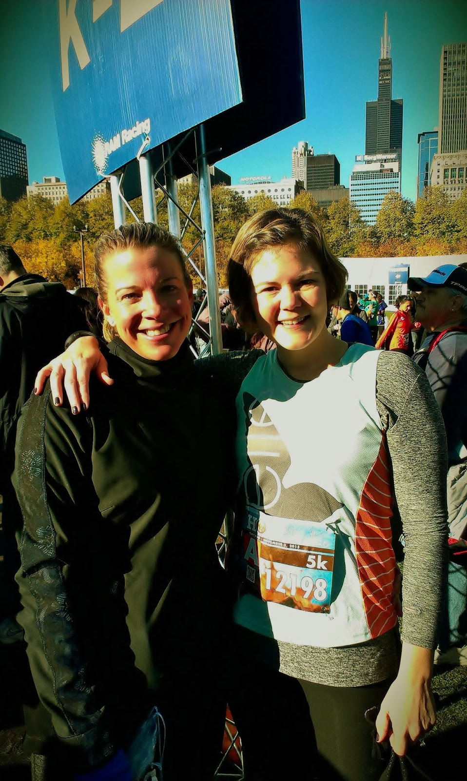 Hot Chocolate 5K Chicago Race Report ~ Born and Read in Chicago