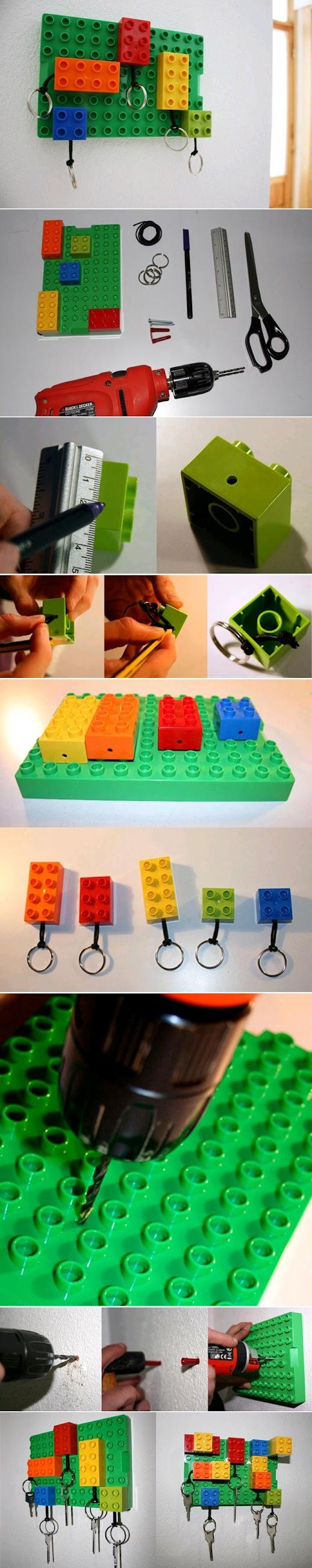 Diy : Lego Key Hanger