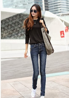 Jeans-skinny-for-women's