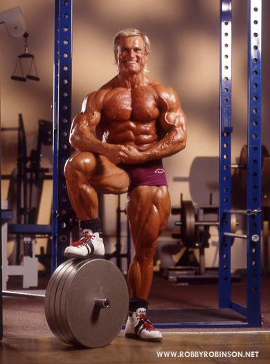 """THE GOLDEN EAGLE"" TOM PLATZ - GOLDEN AGE BODYBUILDER"