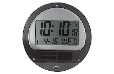 Digital-solar-stomic-wall-clock