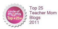 Top 25 Teacher Mom Blog