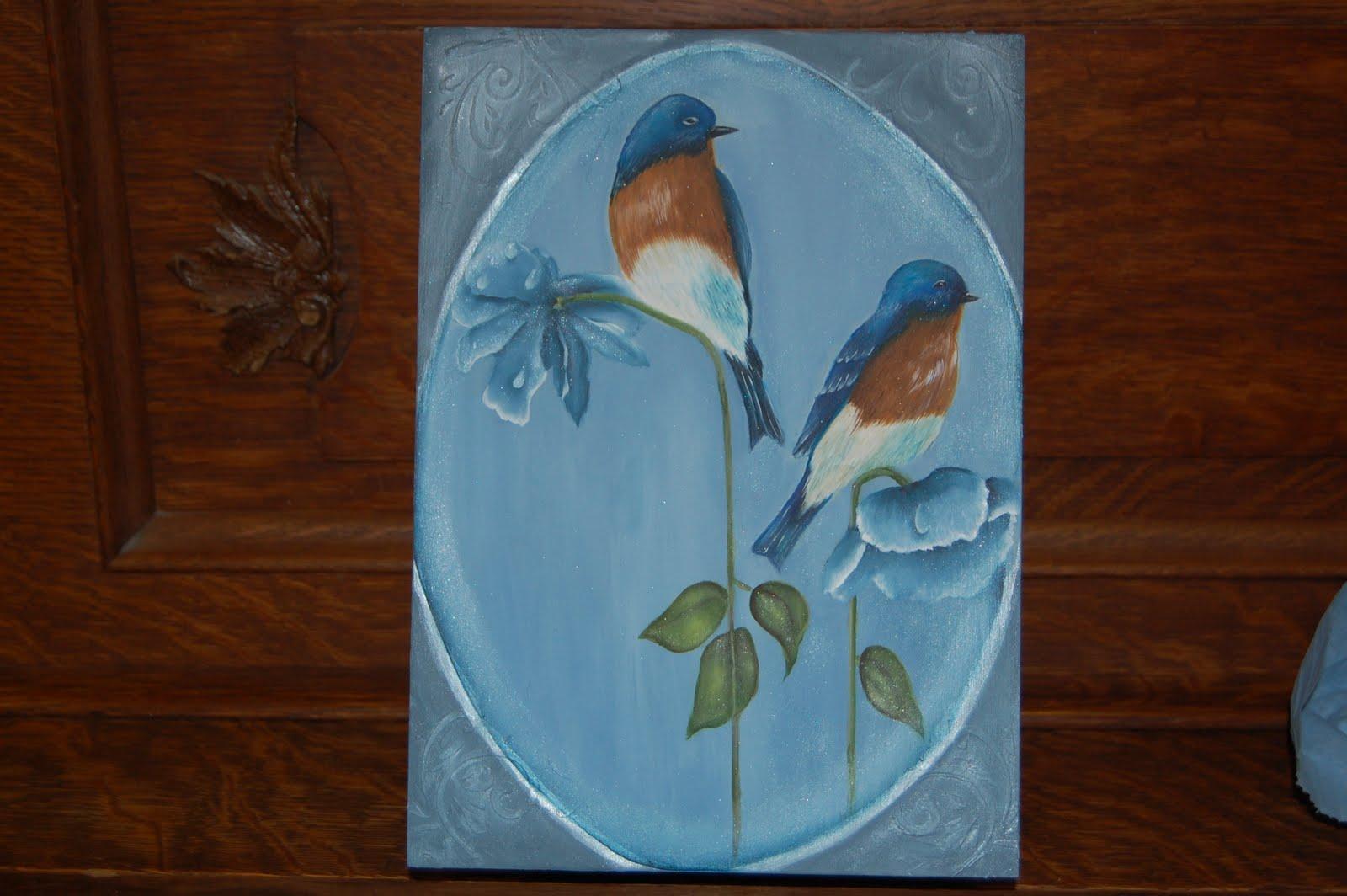 Les bidouilles blog de peinture d corative cours pour centre communautaire - Peinture acrylique sur bois brut ...