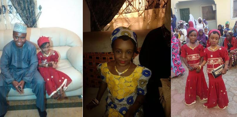 Shocking: This Man Married An 8-year-old Child In Kaduna Last Sunday (Photos)