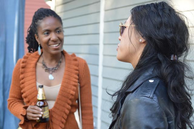 Chatting 2 - Impromptu BBQ - The City Dweller