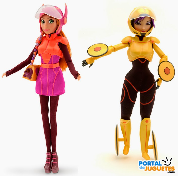 muñecas honey lemon gogo tomago big hero 6 disney store