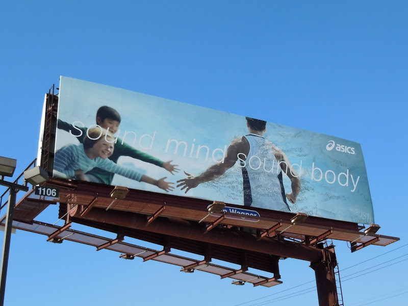 Asics billboard