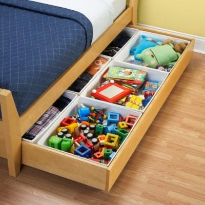 15 creative diy kids toy storage ideas new for Storage for kids rooms