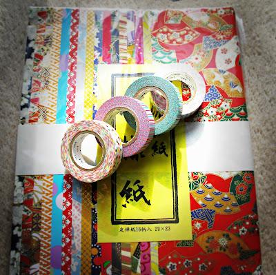 image washi tape Japanese deco tape chiyogami paper