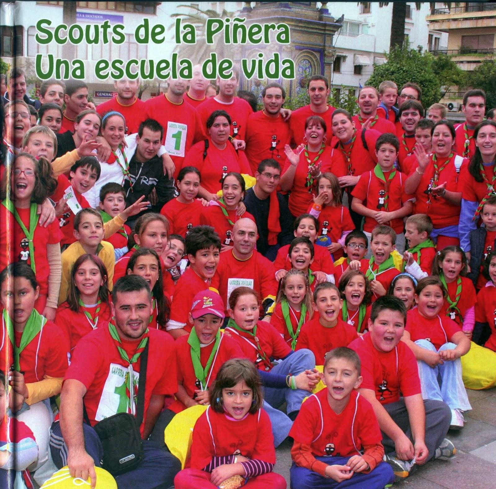 Scouts de La Piñera. Una escuela de vida. PORTADA