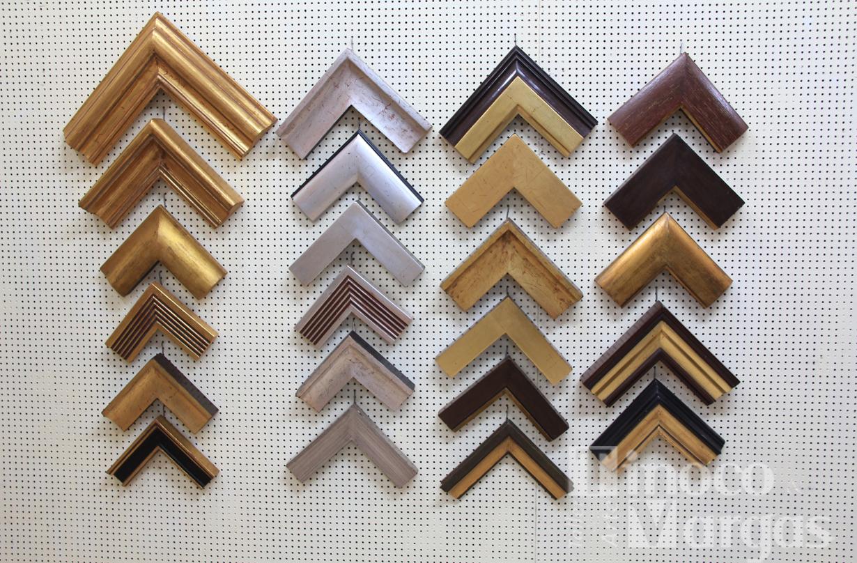 Galería de arte Tinoco y Vargas: Variedad en modelo de marcos